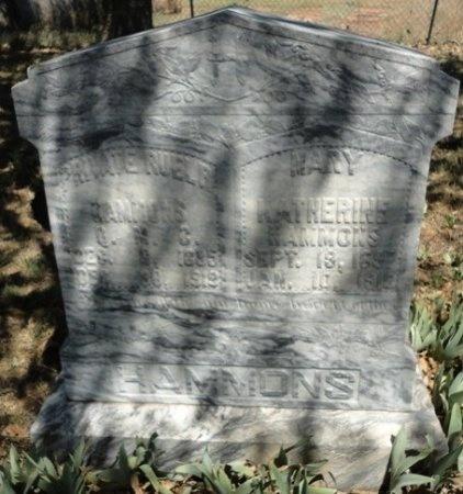 """HAMMONS, MARY KATHERINE """"KATE"""" - Palo Pinto County, Texas   MARY KATHERINE """"KATE"""" HAMMONS - Texas Gravestone Photos"""