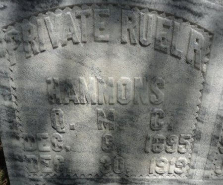 HAMMONS (VETERAN), RUEL R. - Palo Pinto County, Texas | RUEL R. HAMMONS (VETERAN) - Texas Gravestone Photos