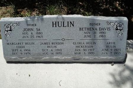 HULIN EDDIE, MARGARET - Palo Pinto County, Texas | MARGARET HULIN EDDIE - Texas Gravestone Photos