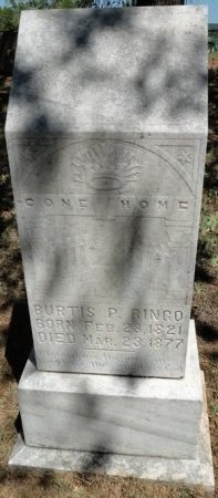 RINGO, BURTIS PRESTON - Palo Pinto County, Texas | BURTIS PRESTON RINGO - Texas Gravestone Photos
