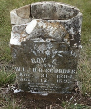 SCUDDER, ROY G. - Palo Pinto County, Texas | ROY G. SCUDDER - Texas Gravestone Photos