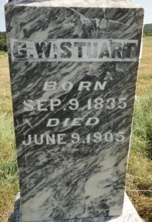 STUART, GEORGE WASHINGTON (CLOSE UP) - Palo Pinto County, Texas   GEORGE WASHINGTON (CLOSE UP) STUART - Texas Gravestone Photos