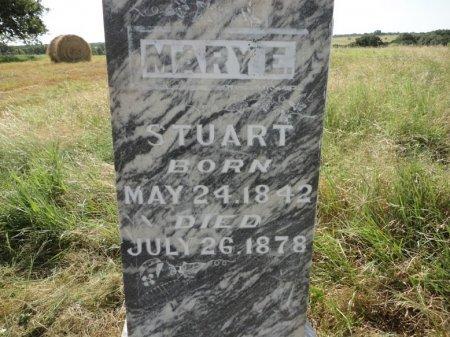 STUART, MARY ELIZABETH (CLOSE UP) - Palo Pinto County, Texas | MARY ELIZABETH (CLOSE UP) STUART - Texas Gravestone Photos