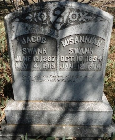 SWANK, MISANNIAH - Palo Pinto County, Texas | MISANNIAH SWANK - Texas Gravestone Photos