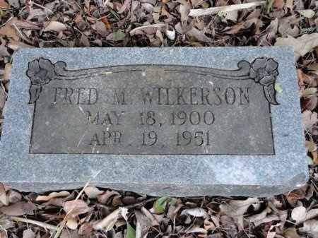 WILKERSON, FRED M. - Palo Pinto County, Texas | FRED M. WILKERSON - Texas Gravestone Photos