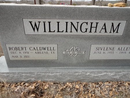 WILLINGHAM, ROBERT CALDWELL - Palo Pinto County, Texas | ROBERT CALDWELL WILLINGHAM - Texas Gravestone Photos