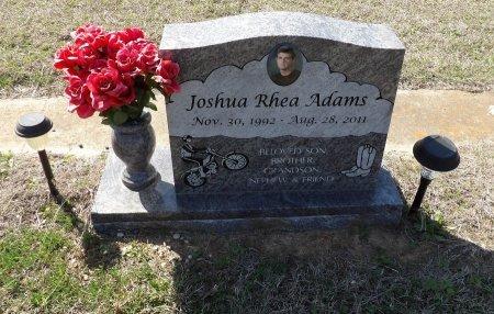 ADAMS, JOSHUA RHEA - Parker County, Texas | JOSHUA RHEA ADAMS - Texas Gravestone Photos
