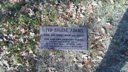 ADAMS, TED EUGENE - Parker County, Texas | TED EUGENE ADAMS - Texas Gravestone Photos