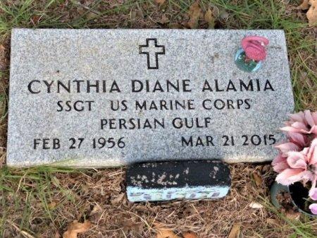 ALAMIA (VETERAN PGW), CYNTHIA DIANE - Parker County, Texas | CYNTHIA DIANE ALAMIA (VETERAN PGW) - Texas Gravestone Photos