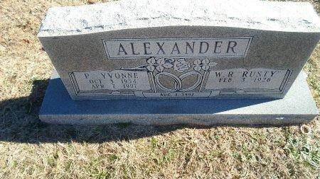 ALEXANDER, PHULLIS YVONNE - Parker County, Texas   PHULLIS YVONNE ALEXANDER - Texas Gravestone Photos