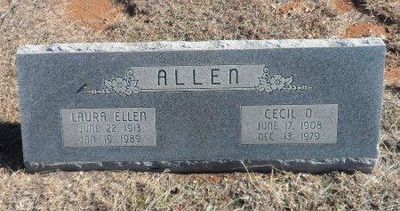 ALLEN, CECIL O. - Parker County, Texas | CECIL O. ALLEN - Texas Gravestone Photos