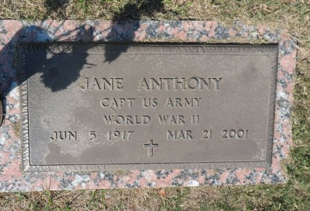 MRUGALSKI ANTHONY (VETERAN  WW, JANE - Parker County, Texas | JANE MRUGALSKI ANTHONY (VETERAN  WW - Texas Gravestone Photos