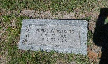ARMSTRONG, ALONZO - Parker County, Texas   ALONZO ARMSTRONG - Texas Gravestone Photos