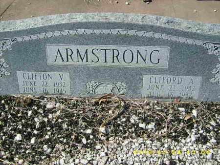 ARMSTRONG, CLIFORD A - Parker County, Texas | CLIFORD A ARMSTRONG - Texas Gravestone Photos