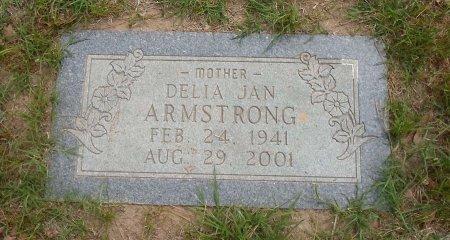 ARMSTRONG, DELIA JAN - Parker County, Texas | DELIA JAN ARMSTRONG - Texas Gravestone Photos