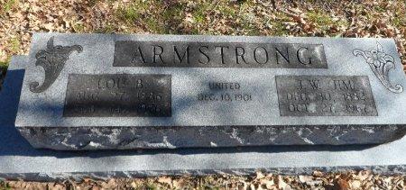 ARMSTRONG, LOE BELL - Parker County, Texas | LOE BELL ARMSTRONG - Texas Gravestone Photos