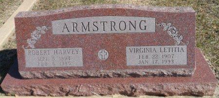 ARMSTRONG, VIRGINIA LETITIA - Parker County, Texas | VIRGINIA LETITIA ARMSTRONG - Texas Gravestone Photos