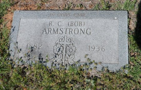 """ARMSTRONG, ROBERT CHACIE """"BOB"""" - Parker County, Texas 