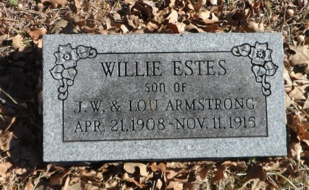 ARMSTRONG, WILLIE ESTES - Parker County, Texas   WILLIE ESTES ARMSTRONG - Texas Gravestone Photos
