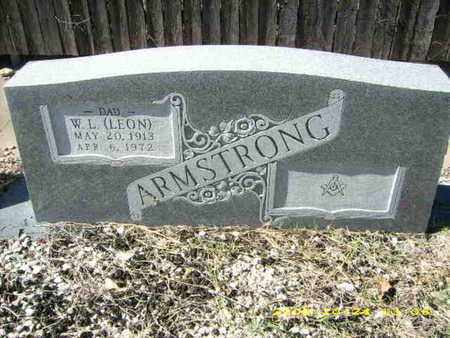ARMSTRONG, W. L. (LEON) - Parker County, Texas   W. L. (LEON) ARMSTRONG - Texas Gravestone Photos