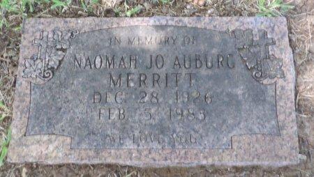 MERRITT AUBURG, NAOMAH JO - Parker County, Texas   NAOMAH JO MERRITT AUBURG - Texas Gravestone Photos