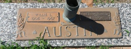 AUSTIN, WILLIE LESTER - Parker County, Texas | WILLIE LESTER AUSTIN - Texas Gravestone Photos