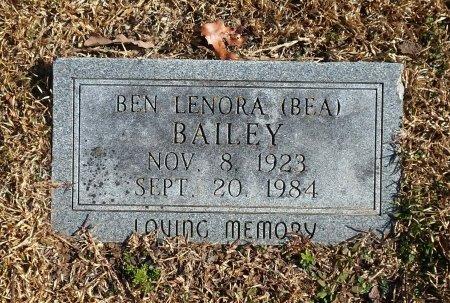 BAILEY, BEN LENORA - Parker County, Texas   BEN LENORA BAILEY - Texas Gravestone Photos