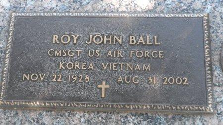 BALL (VETERAN 2WARS), ROY JOHN - Parker County, Texas   ROY JOHN BALL (VETERAN 2WARS) - Texas Gravestone Photos