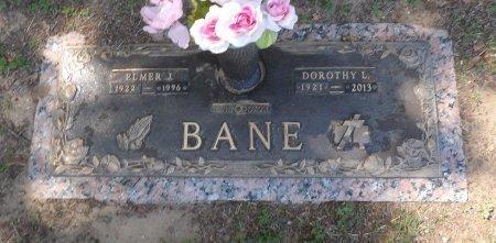 BARRON BANE, LENA - Parker County, Texas | LENA BARRON BANE - Texas Gravestone Photos