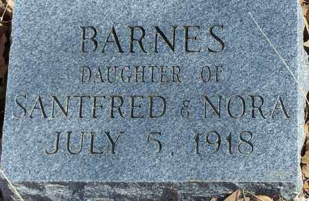 BARNES, INFANT DAUGHTER - Parker County, Texas   INFANT DAUGHTER BARNES - Texas Gravestone Photos