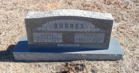 BARNES, LONNIE LAUDY - Parker County, Texas | LONNIE LAUDY BARNES - Texas Gravestone Photos