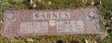 BARNES, ORA DEAN - Parker County, Texas | ORA DEAN BARNES - Texas Gravestone Photos