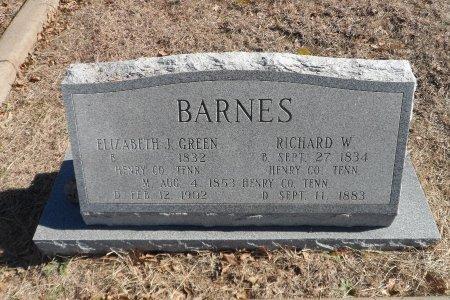 BARNES, RICHARD W. - Parker County, Texas | RICHARD W. BARNES - Texas Gravestone Photos