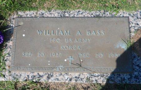 BASS (VETERAN KOR), WILLIAM A - Parker County, Texas | WILLIAM A BASS (VETERAN KOR) - Texas Gravestone Photos
