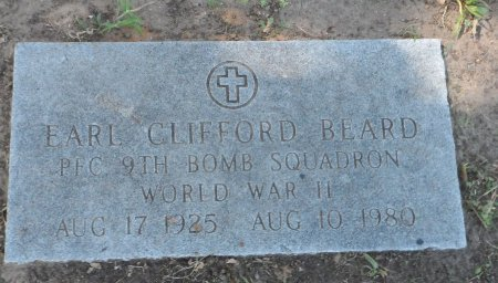 BEARD (VETERAN WWII), EARL CLIFFORD - Parker County, Texas | EARL CLIFFORD BEARD (VETERAN WWII) - Texas Gravestone Photos