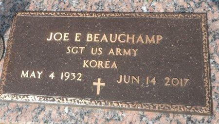 BEAUCHAMP (VETERAN KOR), JOE EDWARD - Parker County, Texas | JOE EDWARD BEAUCHAMP (VETERAN KOR) - Texas Gravestone Photos