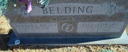 BELDING, PAUL EDWARD - Parker County, Texas | PAUL EDWARD BELDING - Texas Gravestone Photos