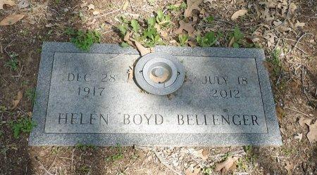 BELLENGER, HELEN ELVIRA - Parker County, Texas | HELEN ELVIRA BELLENGER - Texas Gravestone Photos