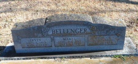 WILLIAMS BELLENGER, MABEL - Parker County, Texas | MABEL WILLIAMS BELLENGER - Texas Gravestone Photos
