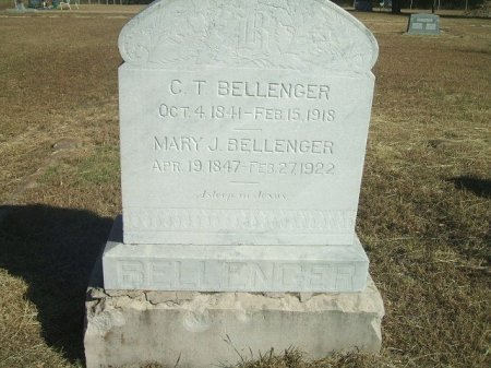RAY BELLENGER, MARY JANE - Parker County, Texas | MARY JANE RAY BELLENGER - Texas Gravestone Photos