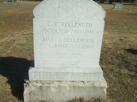 BELLENGER (VETERAN CSA), CHALMERS TARPLIN - Parker County, Texas   CHALMERS TARPLIN BELLENGER (VETERAN CSA) - Texas Gravestone Photos