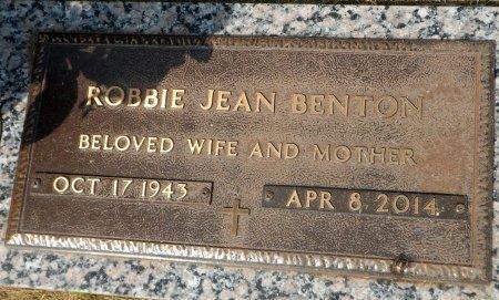 BENTON, ROBBIE JEAN - Parker County, Texas   ROBBIE JEAN BENTON - Texas Gravestone Photos