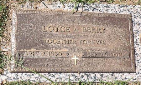 STULTS BERRY, LOYCE ANGELA - Parker County, Texas | LOYCE ANGELA STULTS BERRY - Texas Gravestone Photos