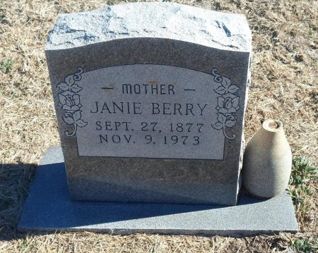 BERRY, MARY JANIE - Parker County, Texas | MARY JANIE BERRY - Texas Gravestone Photos
