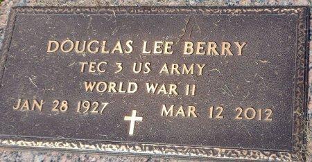 BERRY (VETERAN  WWII), DOUGLAS LEE - Parker County, Texas | DOUGLAS LEE BERRY (VETERAN  WWII) - Texas Gravestone Photos
