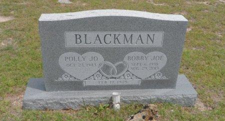 BLACKMAN, BOBBY JOE - Parker County, Texas   BOBBY JOE BLACKMAN - Texas Gravestone Photos