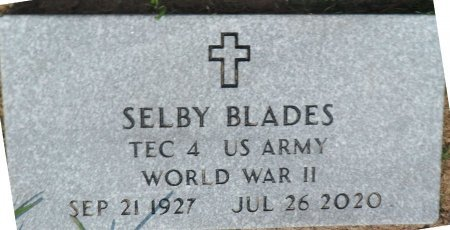 BLADES, JR (VETERAN  WWII), SELBY - Parker County, Texas | SELBY BLADES, JR (VETERAN  WWII) - Texas Gravestone Photos