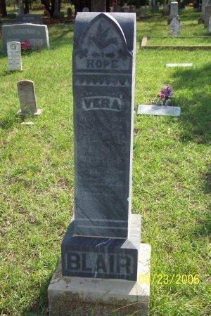 COALSON BLAIR, VERA MAE - Parker County, Texas | VERA MAE COALSON BLAIR - Texas Gravestone Photos