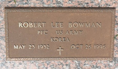 BOWMAN (VETERAN  KOR), ROBERT LEE - Parker County, Texas | ROBERT LEE BOWMAN (VETERAN  KOR) - Texas Gravestone Photos