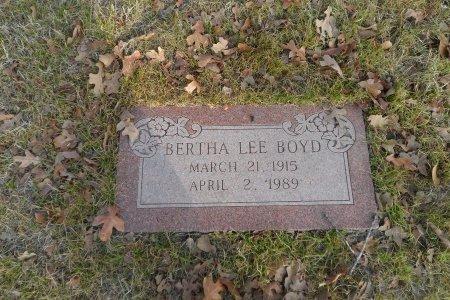 BOYD, BERTHA LEE - Parker County, Texas | BERTHA LEE BOYD - Texas Gravestone Photos